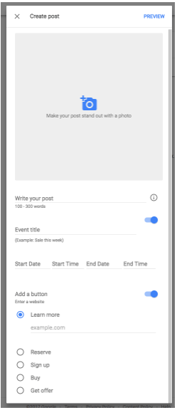 GMB Google Posts